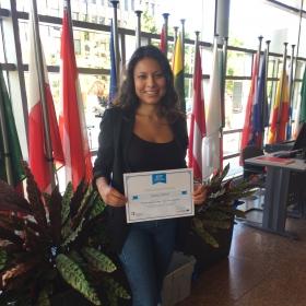 Studentka programu MOS se zúčastnila školení v Eurostatu